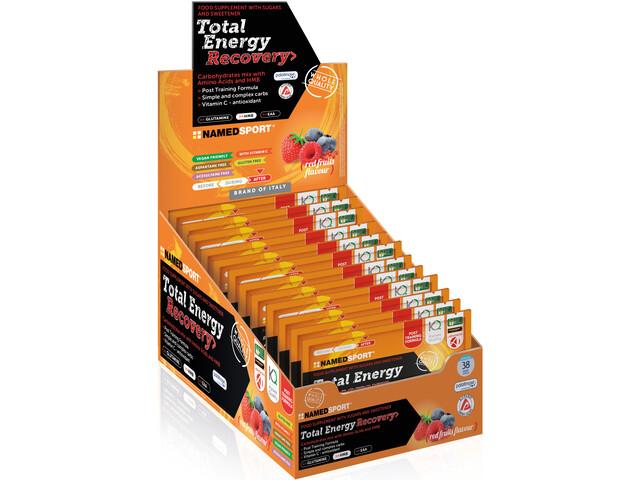 NAMEDSPORT Total Energy Recovery Napój izotoniczny w saszetkach 16 x 40g, Red Fruit